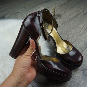Guess by Marciano Vintage Brown Maryjane Heels